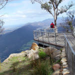 mountain lookout bushwalk